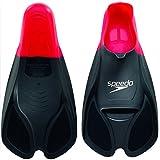 Speedo Unisex Biofuse Flossen, rot/schwarz, EU 44-46 (UK 10-11), 8-08841399110-11