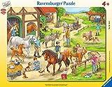 Ravensburger Rahmenpuzzle 06164 Auf dem Pferdehof, Multicolor