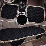 MARK Autoteile, Autositzkissen, Autositzbezug, atmungsaktiver und Komfortabler Autositz, rutschfestes Ledersitzkissen, Autoinnenraum,e1