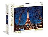 Clementoni 32554.2 - Museum Collection 2000 Paris, Klassische Puzzle