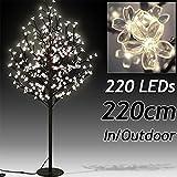 Kirschblütenbaum LED 180cm 200 LEDs - für Innen und Außen - warmweiß