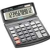 SCHÄFER SHOP SSI DK-208 Taschenrechner Standard Tischrechner neigbar Dual-Power