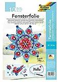 folia 450230 - Fensterfolie farblos, 23 x 33 cm, 10 Blatt