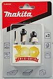 Makita Fräser-Set 3-teilig 6 mm, D-53338
