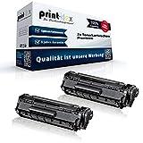 2x Alternative Tonerkartuschen für Canon Fax L100 Fax L120 Fax L140 Fax L160 Fax L95 Fax L95N FX10 FX 10 XXL Black Schwarz Doppelpack - Color Pro Serie