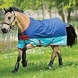 Horseware Amigo Mio Turnout lite Dark Blue/Aqua Regendecke (155)