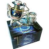 York Fishing Pilkrolle Meeresrolle Angelrolle Sea Hero 5000 Aluminiumspule Metallkurbel