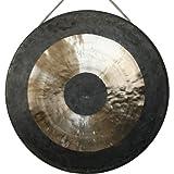 Original Tam Tam Gong / Whood Chau Gong 40 cm, toller Klang, inklusiv Holz-/ Baumwollklöppel -7026-