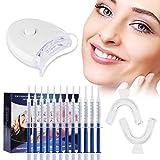 Teeth Whitening Kit Xpassion Zahnaufhellungs Set Professionelles Bleaching Zahnbleaching für weiß Zähne, 12x Teeth Whitening