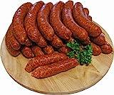 Würziges Wurstpaket Knacker Set mit Chili und Käseknacker | Käsewurst und Chiliwurst | Wurstgeschenk Männer | 2000g