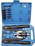 BGS 405 Profi-Nietzangen-Set, Langarm, 3,2-6,4 mm