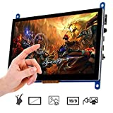 OSOYOO 7 Inch Touch Screen Monitor Display HD 1024x600 Driver Free Plug and Play Capacitive Touch for Raspberry Pi,Computer,TV Box,DVR,Game Device