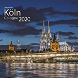 Köln 2020 bella vista Broschürenkalender 30 x 60 cm aufgeklappt