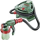 Bosch Farbsprühsystem PFS 5000 E (2x Farbbehälter 1000 ml, Düse für Wandfarbe/ Lasuren/ Lacke, Farbfilter, Reinigungsbürste, Karton, 1200 Watt)