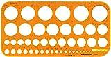 Rumold 2010 - Hochwertige Kreisschablone 1-36mm