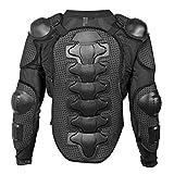 Fincci Motorrad Schutzjacke Mx Enduro Motocross Motorrad Jacke Fahrrad Ganzkörper Rüstung mit Abnehmbarem Rückenschutz