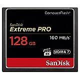 SanDisk Extreme Pro CompactFlash 128GB Speicherkarte (bis zu 160MB/s lesen)