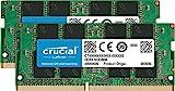 Crucial CT16G4SFD824A 32GB (16GB x2) Speicher Kit (DDR4, 2400 MT/s, PC4-19200, Dual Rank x8, SODIMM, 260-Pin)
