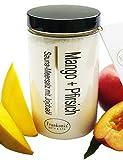Sauna Salz Mango - Pfirsich mit Jojobaöl, Körperpeeling 400 g