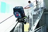 Bosch Professional Linienlaser GCL 2-50 C mit App Funktion, 1x 12V 2,0 Ah Akku, Ladegerät, Dreh- und Wandhalterung, Zieltafel, Schutztasche, L-BOXX (12 Volt, 2,0 Ah, Messweite: 50m)
