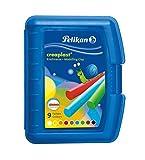 Pelikan 198/9B - Creaplast  Knete 9 verschiedene Farben in Kunststoffbox