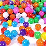 Schramm 500 Stück Bälle für Bällebad 6cm Bälle für Kinder Bällebäder Babybälle Plastikbälle Ballpool Ohne Weichmacher 500er Pack