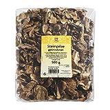 Wichartz Würzkönig Steinpilze getrocknet 500 g getrocknete Speisepilze für Feinschmecker, zum Verfeinern von Gerichten, sehr ergiebig, Menge: 1 Stück