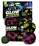 Crossboccia Double-Pack Pro, Night Glow, für 2 Spieler, Design Record Lines, Mod. 2013