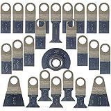 25 x SabreCut SCK25A Mix Klingen für Fein Supercut und Festool VECTURO Multitool Multi Tool Multifunktionswerkzeug Oszillierwerkzeug Zubehör