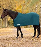 WALDHAUSEN Fleecedecke Economic, pfauengrün, Rückenlänge 115 cm