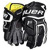 Bauer Supreme 1S Handschuhe Senior, Größe:13 Zoll;Farbe:schwarz