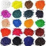 JNCH 40 Gramme 20 Farben Kerzenfarbe Kerzen Dye Kerzenwachs Farbe Dye Wachsfarbe Kerzenherstellung Dye für Paraffin Sojawachs (20 bags/2g)