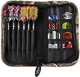 Casemaster Deluxe 6 Dart Nylon Aufbewahrungstasche Reisetasche, Unisex-Erwachsene, Realtree Hardwoods HD Camo, Einheitsgröße