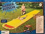 RB&G trade Wasserrutsche Wasserbahn Gartenrutsche Badespaß 615 x 100 cm (Gelb)