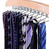 Ohuhu 24 Krawattenhalter Krawattenbügel Krawatten Aufbewahrung Gürtelhalter