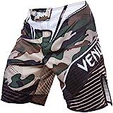 Venum Herren Training Shorts Camo Hero Green/Brown, M
