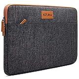 KIZUNA Tablet Tasche 10 Zoll Wasserdicht Laptop Hülle Sleeve Notebook Bag Für 9.7' 10.5' 11' iPad Pro/10.5' iPad Air/10 Surface Go/10.5' Samsung Galaxy Tab/10.8' Huawei MediaPad M5 Pro/Lenovo, Braun