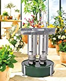 Gartenwelt Riegelsberger Gewächshausheizung Warmax Power 5 Heizungsart: Petroleum (Ölheizung) Brenndauer: ca. 3,5 Tage Tankinhalt: 4,5 Liter Max Heizleistung: 600 W