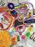 niavida Kinder-Set Haarschmuck Haarspange Haargummi Haarklammer 30 Teile Extras Mädchen