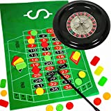 German Trendseller Roulette Spiel - NEU- ┃ Komplett - Set mit Roulettrad ┃ Casino ┃ Las Vegas ┃ Glücksspiel ┃ Party Spiel