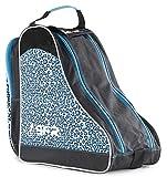 SFR Designer Eis/Rollschuh Tragetasche - Blau Leopard
