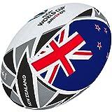 Gilbert Rugby World Cup Japan 2019Neuseeland Flagge Ball 5 Mehrfarbig