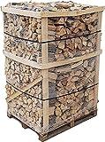800 kg Brennholz Kaminholz reine Buche sauber auf der Palette geliefert Kaminholz in 30-33 cm Länge