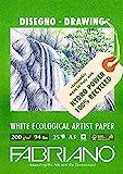 Unbekannt Fabriano Zeichenblock, FSC 100% Recycling, weiß 21 x 29.7 x 0.5 cm