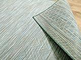 CAMPUS In & Outdoor Teppich Beidseitig Flachgewebe Hampton Mintgrün Meliert