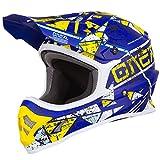 O'Neal Unisex Motocross Fullface Helm 3Series Zen, Petrol, M, 0623-Z-Adult