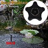 DS.Styles DSstyles Solar-Wasserpumpe, Star-Modell, tragbar, 1,4 W, 7 V