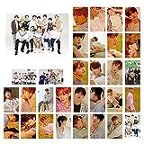 redCherry KPOP Seventeen Mitglieder Fotokarte Fotobuch Poster LOMO Karten Geschenk für Fans, 30 Teile/satz(H03)
