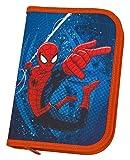 Scooli SPJU0440 Schüleretui mit Stabilo Markenfüllung, Marvel Spider-Man, 30 teilig