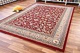 Dubai Sarough Orientteppich rot Webteppich - zeitloser Luxus